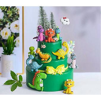 Theme Cake Topper Dinosaur Jungle Safari Birthday Party Decor