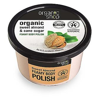 Organic Shop Exfoliante Corporal Espumoso de Almendra Dulce 250 ml
