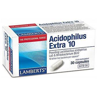 Lamberts Acidofilus Ekstra 10 30 Kapseln