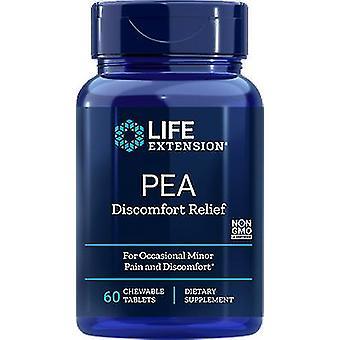 Life Extension PEA comprimés à croquer pour le Soulagement de l'Inconfort