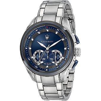 Maserati R8873612014 Montre bracelet en acier Traguardo Chronograph
