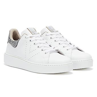 Victoria Utopia Vegan Womens White / Silver Trainers