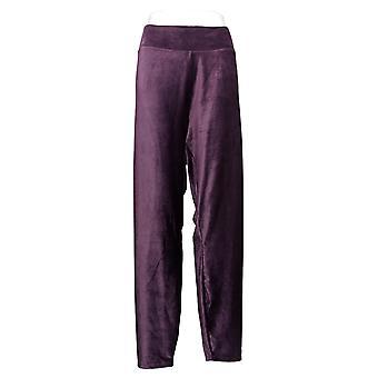 Cuddl Duds Kvinder's Bukser Fløjlsbukser Stretch Legging Purple A384372