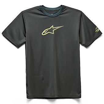 Alpinestars Men's T-Shirt ~ Tech Ageless Performance charcoal