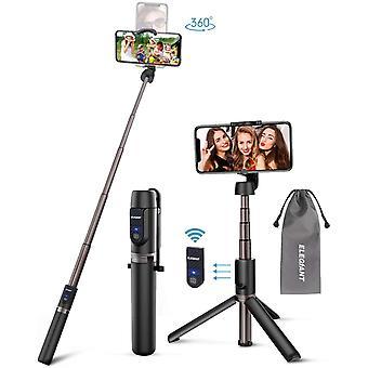 Wokex Selfie Stick Stativ, Bluetooth 3 in 1 Selfiestick Selfie Stange Stab mit abnehmbar