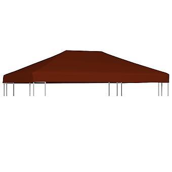 vidaXL pavilion roof 310 g / m2 3x4 m terracotta