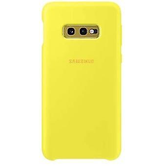 Silikon-Abdeckung für Galaxy S10e Gelb