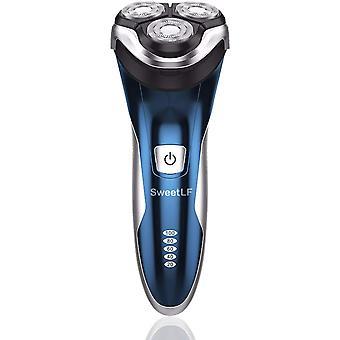 FengChun Rasierer Herren Elektrischer Rasierapparat mit Przisionstrimmer Bartschneider Nass-