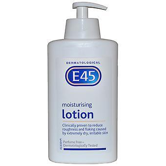 E45 Dermatological Moisturising Lotion 500ml Perfume Free