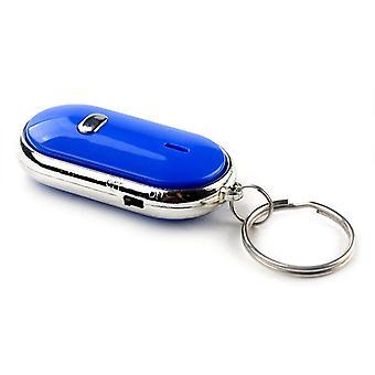 Smart Finder Whistle Sensors White Keychain Sound Led con Claps Finder Locator