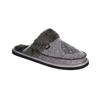Animal Bessie slippers i svart