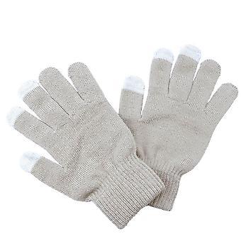 Frauen Männer Unisex stricken warme Handschuhe Call Talking &touch Screen Handschuhe