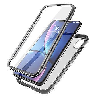 iPhone X / iPhone Xs Unicorn Beetle Electro Clear Case (Black)