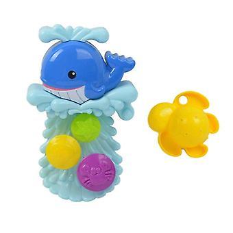 Μωρό μπάνιο παιχνίδι νερό τροχό δελφίνι μπανιέρα παιχνίδια