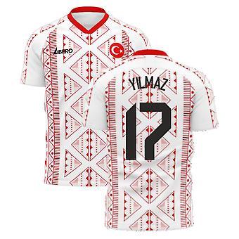 Turquia 2020-2021 Away Concept Football Kit (Libero) (YILMAZ 17)