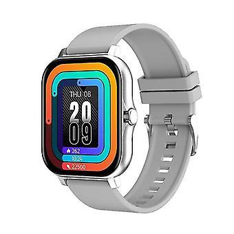 Casual 1.69 Inch Big Screen Smart Watch Men Women Bluetooth Call Sport Smart Watch Silver