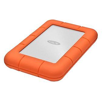 LaCie Rugged Mini, 2TB 2000GB hliníkový, oranžový externí pevný disk
