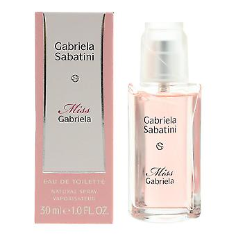 Gabriela Sabatini - Miss Gabriela Eau de Toilette 30ml Spray