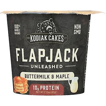 Kodiak Mix Flpjck Cup Btrmk Mapl, Case of 12 X 2.15 Oz