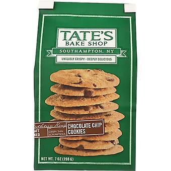 Tates Cookie Choc Chip, prípad 6 X 7 Oz