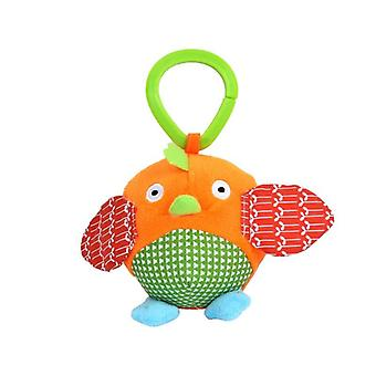 Cute Small Animal Owl Rattles Hanging