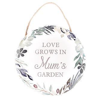 Mum's Garden Plaque (Eine zufällige Lieferung)