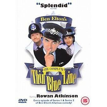 The Thin Blue Line The Complete DVD (2001) Rowan Atkinson Birkin (DIR) cert Regio 2