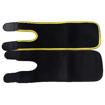 1 Pair Premium Arm Trimmers Sauna Sleeves Wraps Arm Shaper Weight Loss Slimmer Arm Trainer(Yellow)
