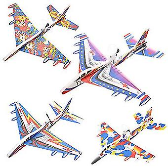 Zufällige Farbe Leuchtendes Laden Flugzeugmodell Spielzeug (O16)