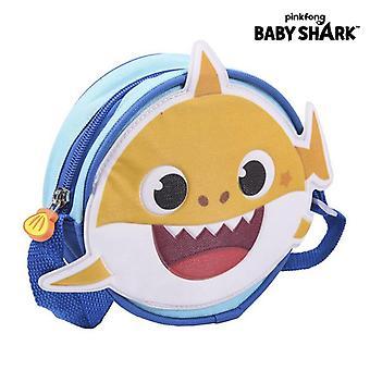 Shoulder Bag Baby Shark Blue (16 x 16 x 4,5 cm)
