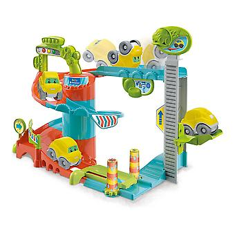 Car park with Cars Fun Garage Baby Track Clementoni