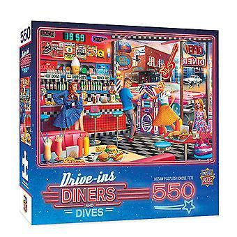 MP Diners & Dives Puzzle (550 pcs)