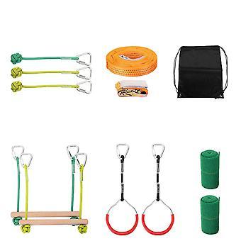 Nouvel équipement d'entraînement à l'obstacles de la ligne d'escalade à la corde