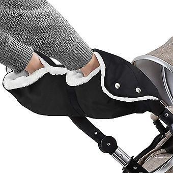 Kinderwagen Handwärmer, Kinderwagen Handschuhe Handmuff mit Fleece Innenseite, Kinderwagenmuff