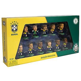 البرازيل SoccerStarz فريق حزمة المنتج المرخص الرسمي