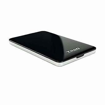 """External Box TooQ TQE-2538B 2,5"""" SATA USB 3.0/3.1 Black"""