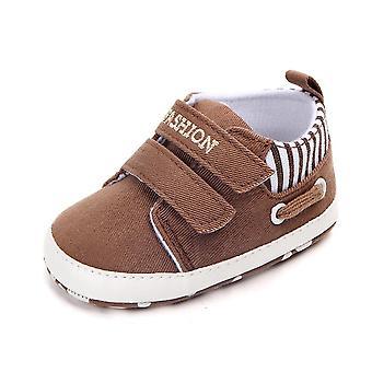 Canvas Pre-walker Soft Sole Pram Shoes