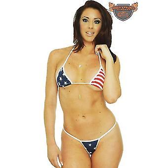 Womenins Bikini Micro Top Costume de baie