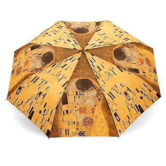 Paraply automatiskt Pocket paraply konst motiv Gustav Klimt