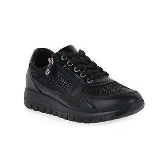 Enval soft nappa black shoes