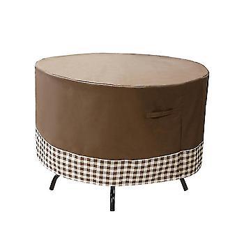 الأثاث في الهواء الطلق يغطي غطاء طاولة الحديقة مع تنفيس الهواء مقاومة للرياح المضادة للأشعة فوق البنفسجية الثقيلة مزق دليل 600d أكسفورد