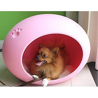 Pet carriers crates pink cute egg-shaped pet house