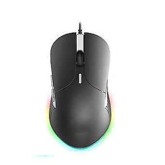 Mouse da gioco cablato colorato incandescente