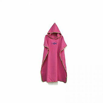 Hooded Poncho Prosop Beach Robe Halat de baie Rapid Uscat Baie Unisex