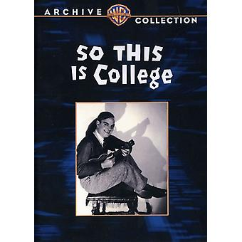 So This Is College [DVD] USA import