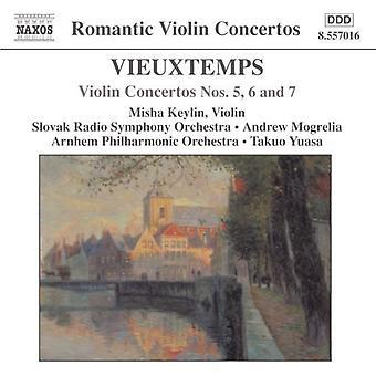 H. Vieuxtemps - Vieuxtemps: Violin Concertos Nos. 5, 6 & 7 [CD] USA import
