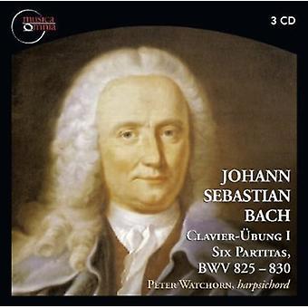 Bach - Johann Sebastian Bach: Clavier- Bung I - Six Partitas, Bwv 825-830 [CD] USA import
