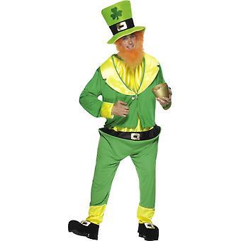 Leprechaun drakt Irland GNOME leprechaun drakt satt