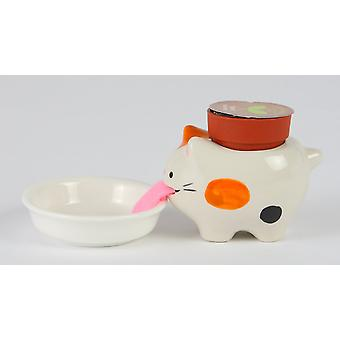 Peropon cat bud vase prank wild strawberry