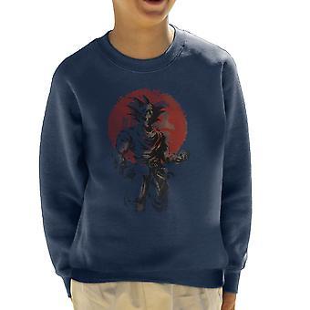 Rising Saiyan Son Goku Dragon Ball Super Kid's Sweatshirt